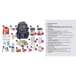 2 Person Survival Kit Camo Description