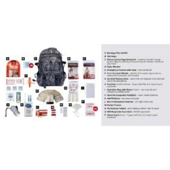 Survival Kit 1 Person Camo Description