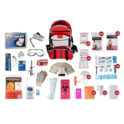 Elite Survival Kit 2 Person Red