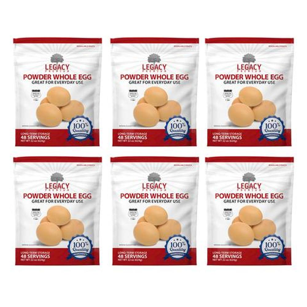 legacy eggs slices six pack