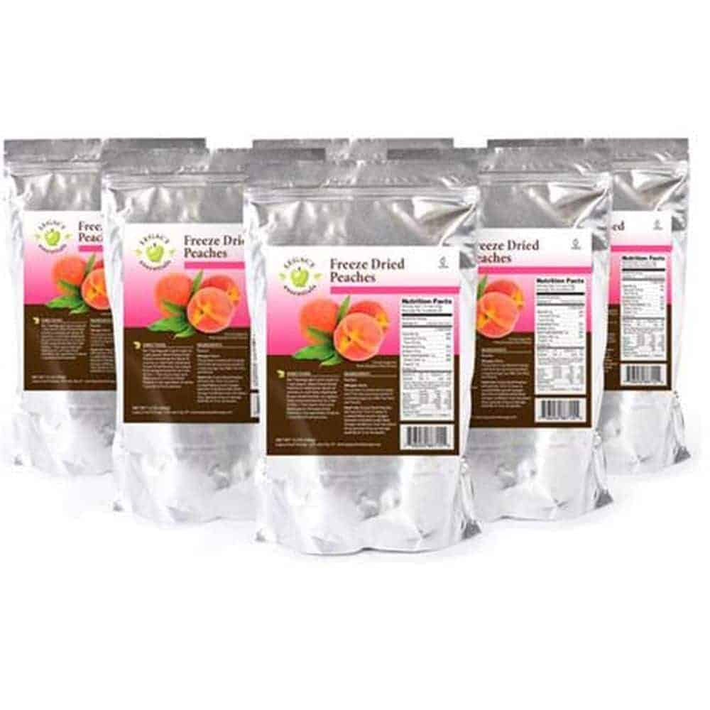 Freeze Dried Peaches 6 pack