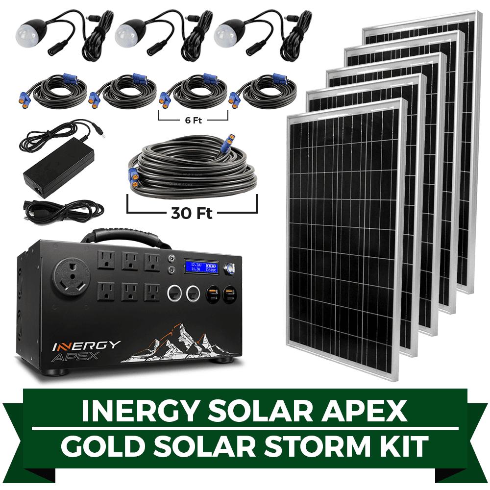 Apex gold solar storm kit