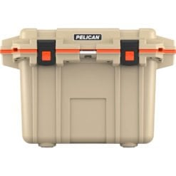 70Q-2-TANORG_Pelican Cooler Im 70 Quart – Elite Tan-orange