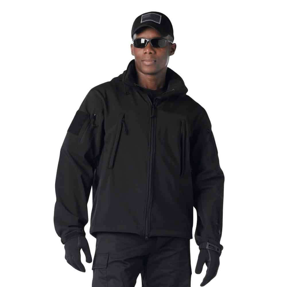 Special Ops Tac Soft Shell Black5 1