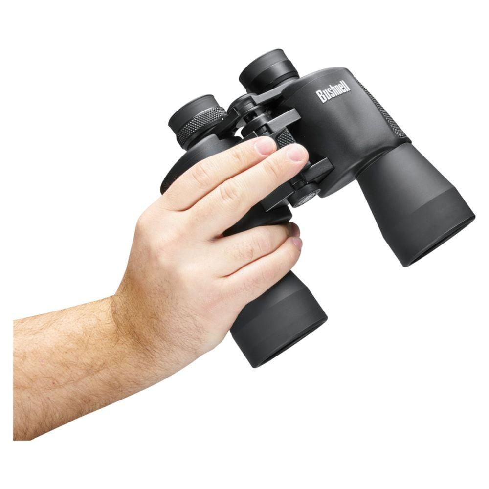 Bushnell Binocular Powerview – 12×50 Porro Prism Black Holding