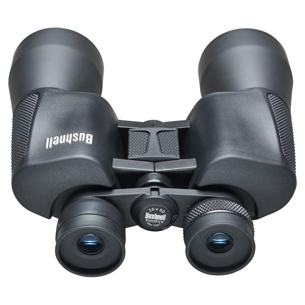 Bushnell Binocular Powerview – 20×50 Porro Prism Black Bottom