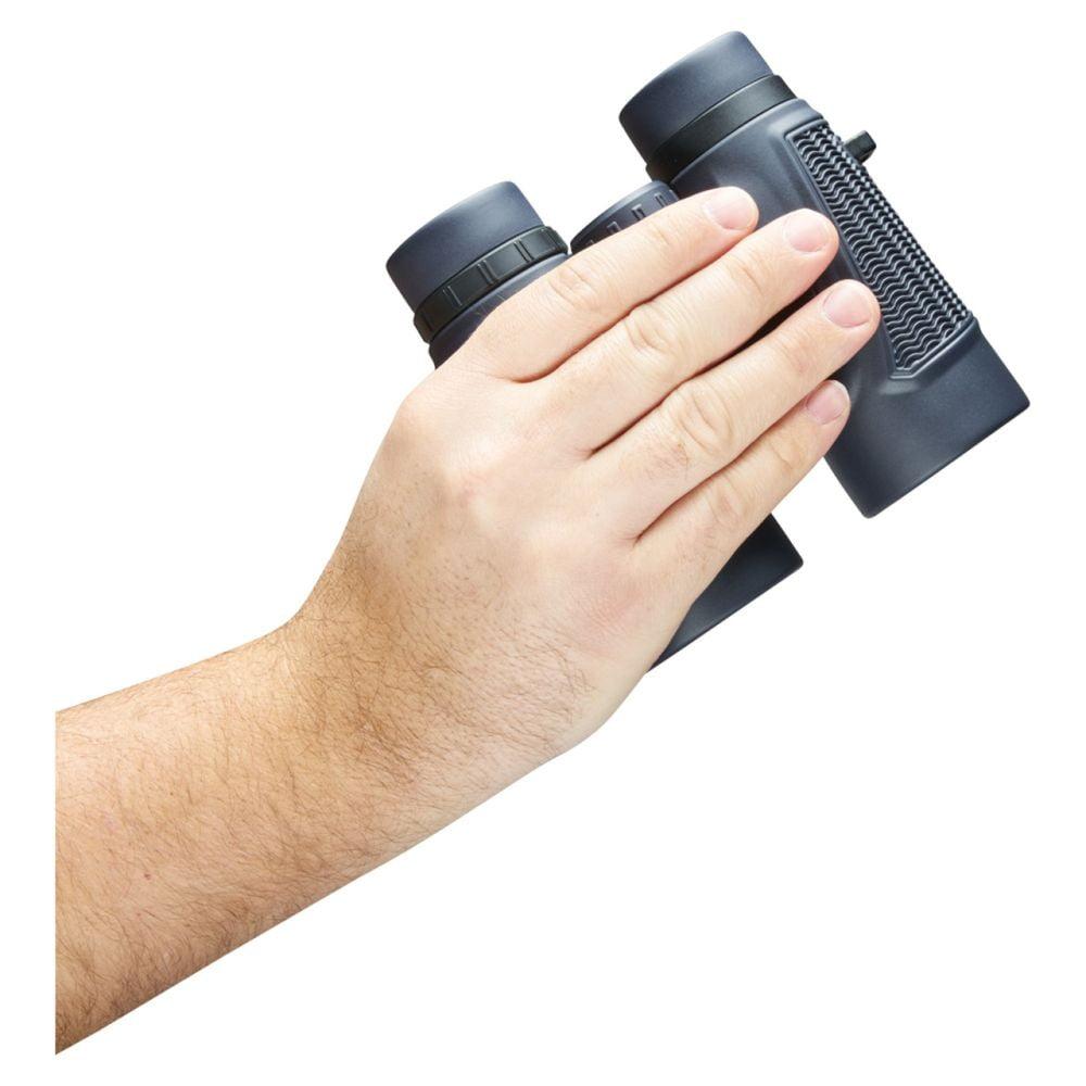 Bushnell Binocular H20 10×42 – Roof Prism Black Holding