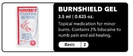 hiker burn gel