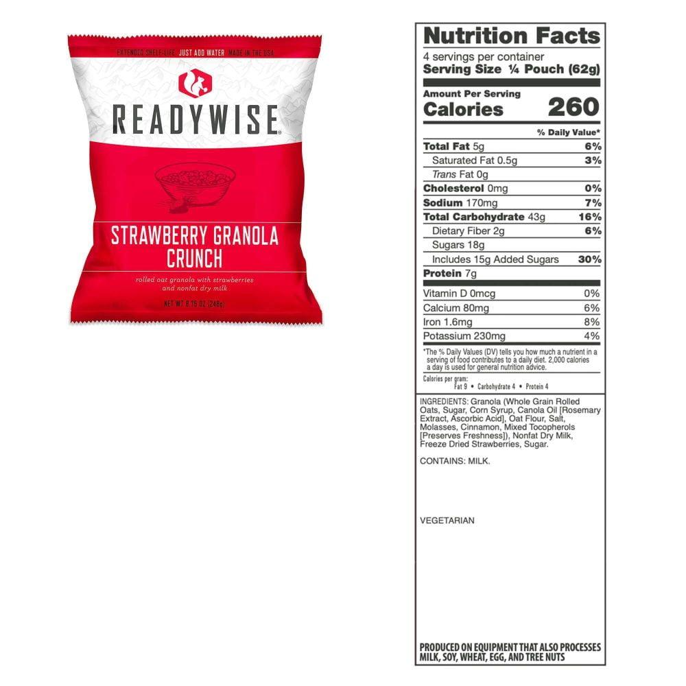 RW Strawberry Granola Crunch
