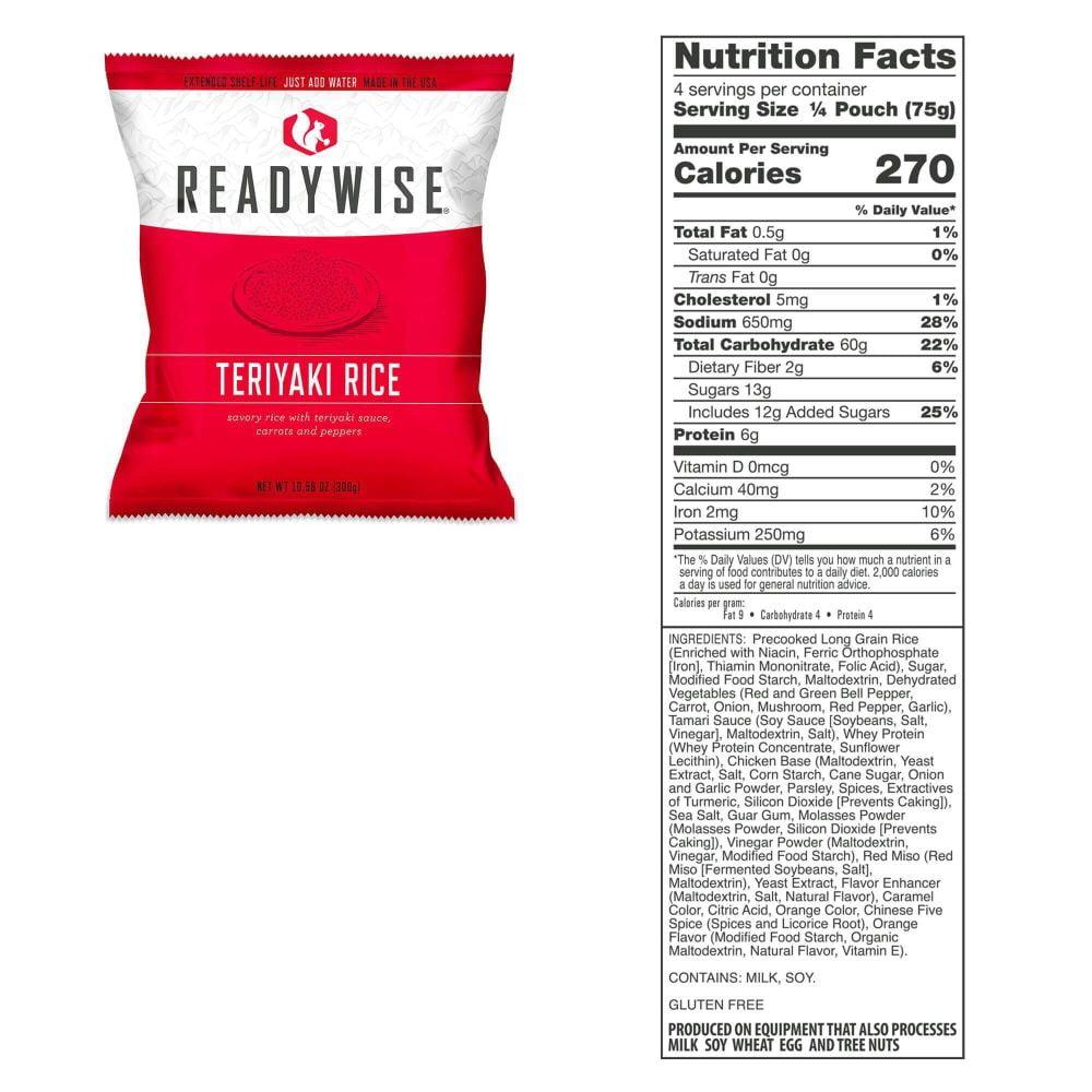 RW Terriyaki Rice