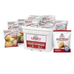79 Serving Freeze Dried Chicken and Entree Combo Bucket