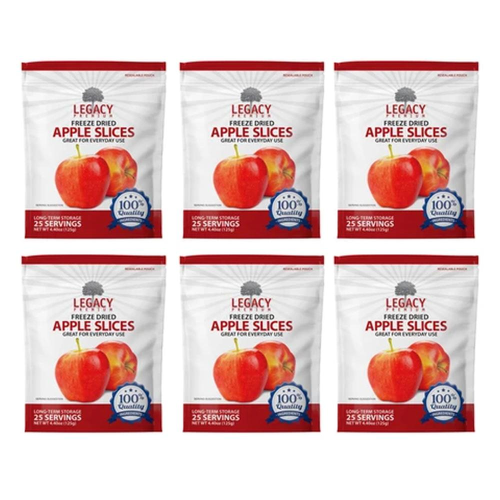 legacy apple slices six pack