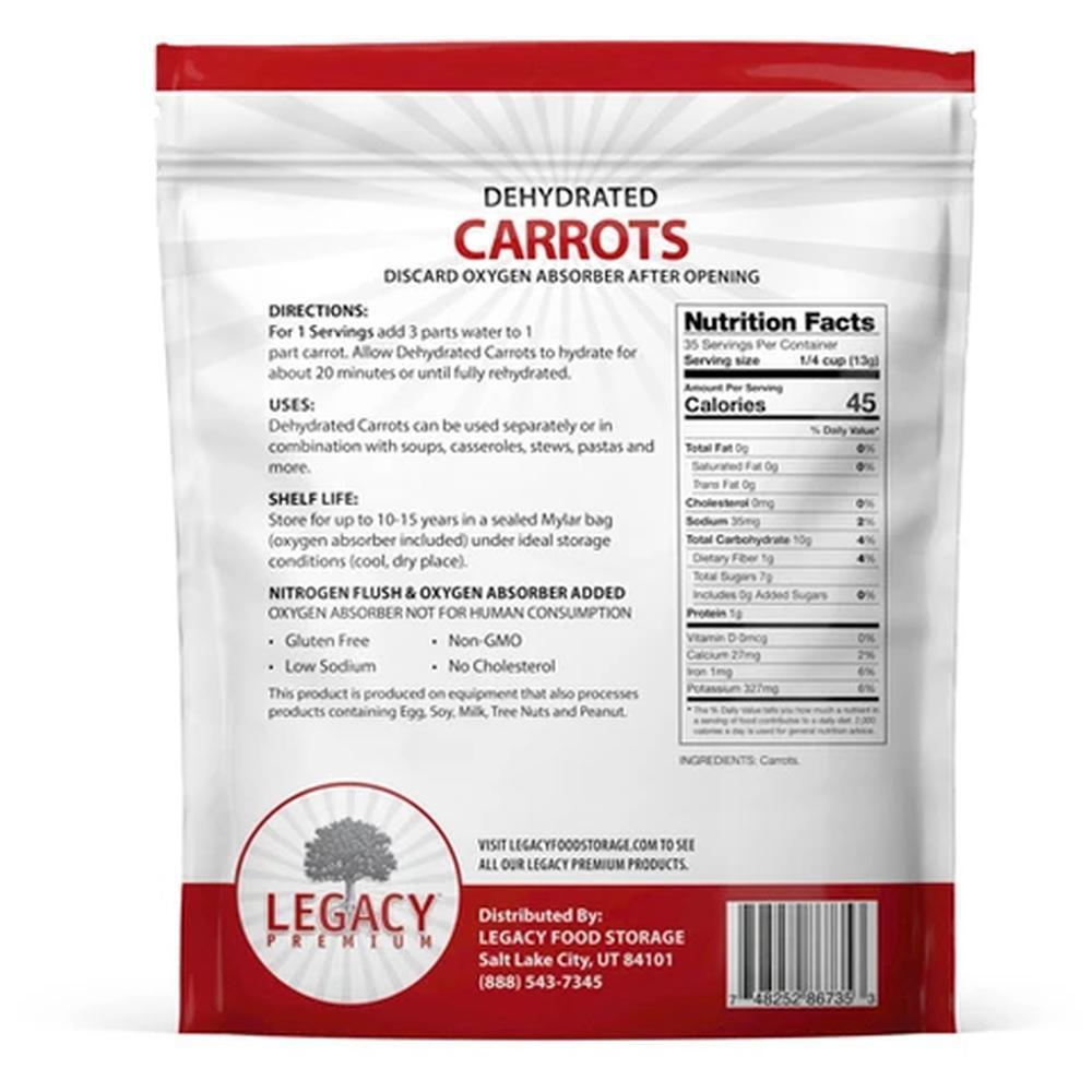 legacy carrots slices back