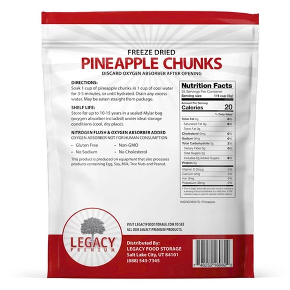 legacy pineapple slices back