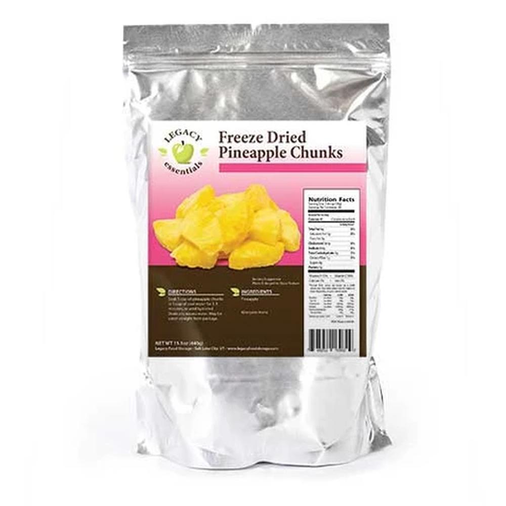legacy pineapple chunks label