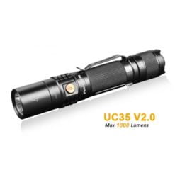 Fenix UC35 V2.0 – 1000 Lumens Rechargeable LED Torch