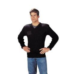GI Wool V Neck Sweater