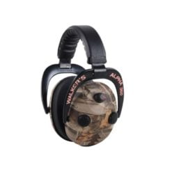 Walkers Alpha 360 Quad Electronic Power MuffS 50db Camo