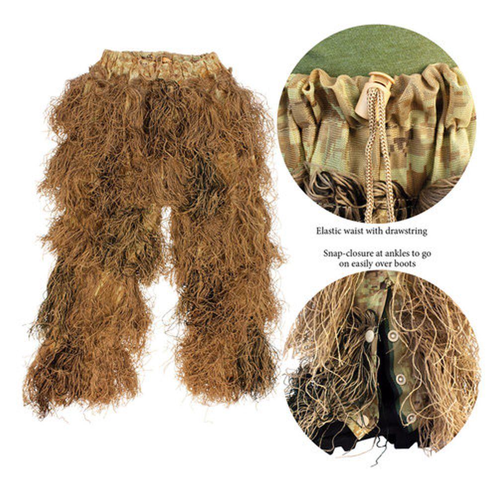 Red Rock 5-Piece Ghillie Suit Desert – Medium-Large Pants