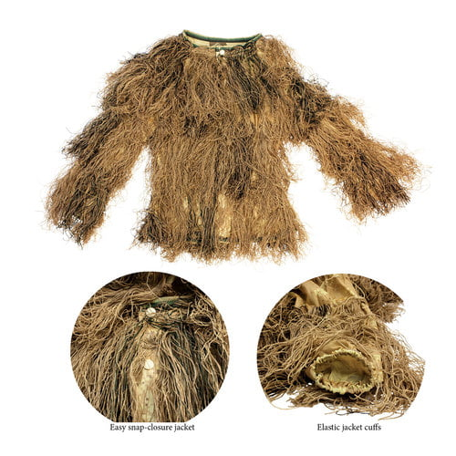 Red Rock 5-Piece Ghillie Suit Desert – Medium-Large Shirt