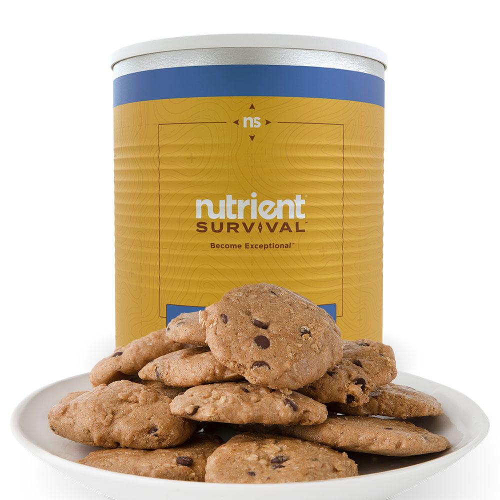 Nutrient Survival Chocolate Chip Cookies