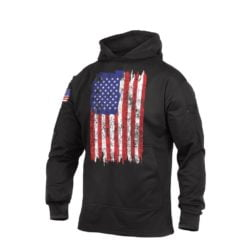 Rothco U.S. Flag Concealed Carry Hoodie