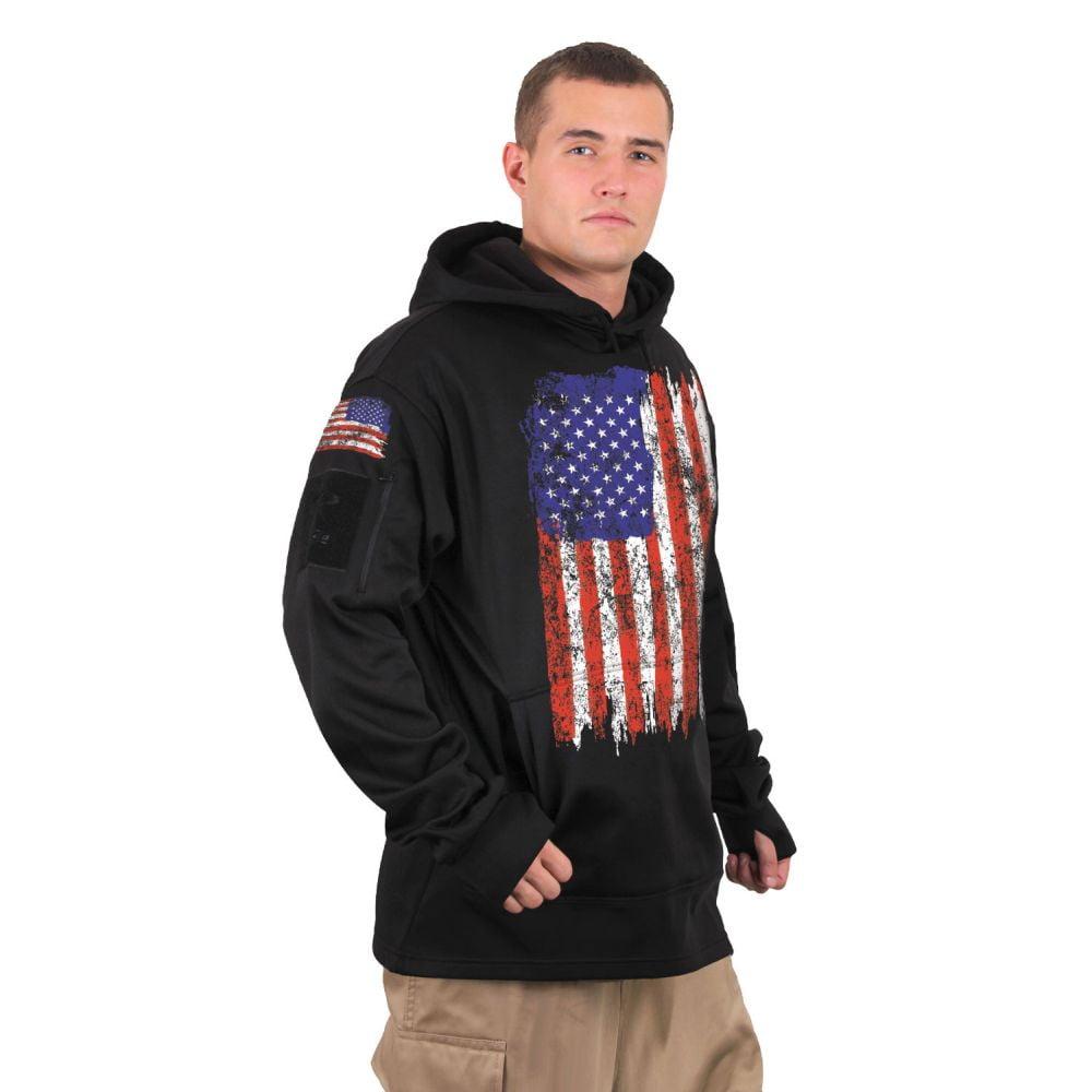 US Flag Concealed CarryHoodie1