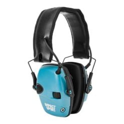 Howard Leight Impact Sport - Teal Electronic Muff Nrr22