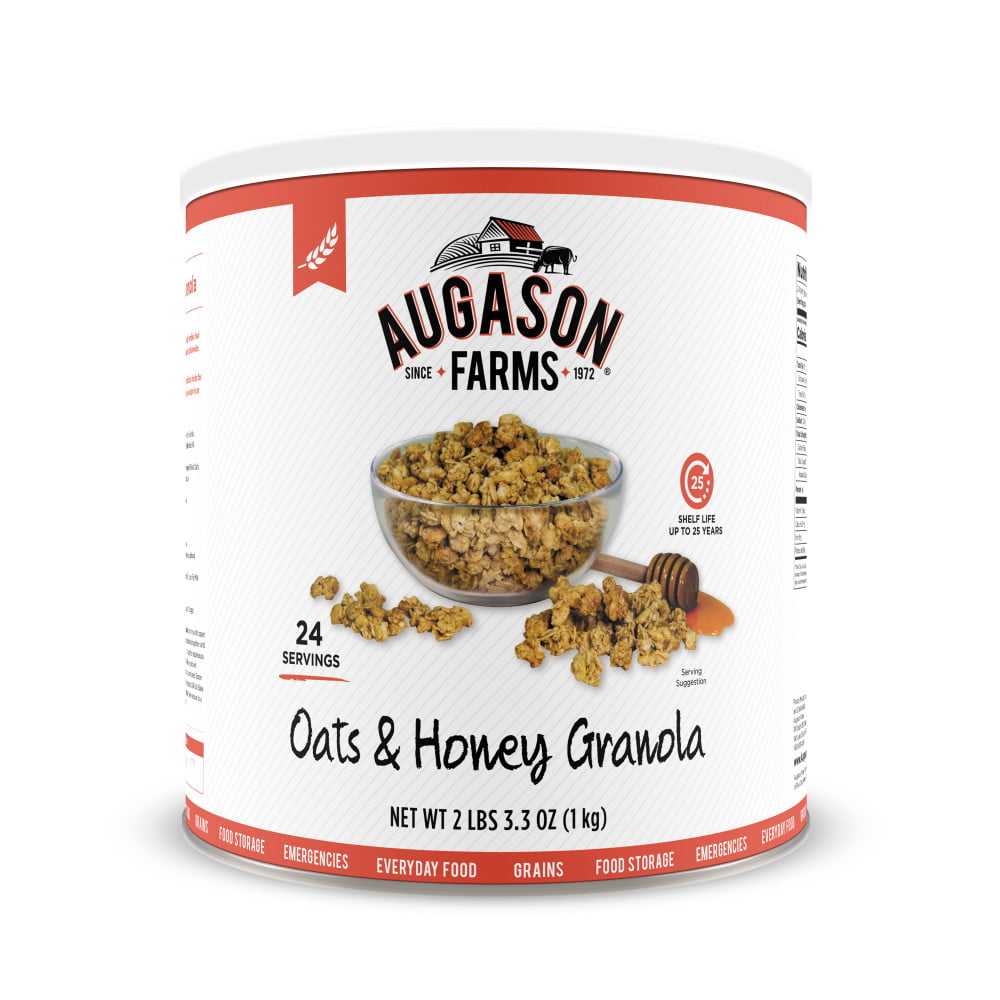 oats & honey granola