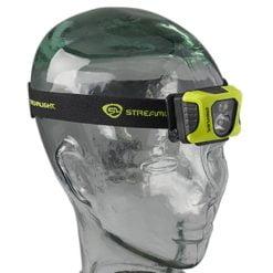 Streamlight Enduro Pro USB Headlamp on head