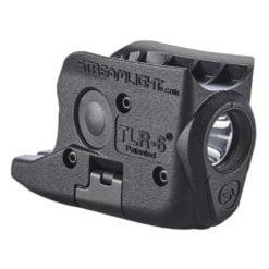 Streamlight TLR-6 RailMount for Glock Flashlight - Black Side