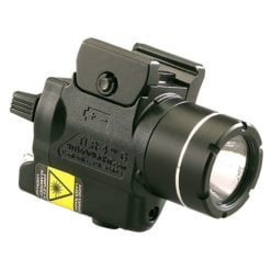 Streamlight TLR-4 G Tactical Light with Green Laser Tilted