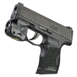 Streamlight TLR-6 Tactical Light with Red Aiming Laser On Weapon