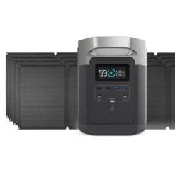 EcoFlow Delta 1300 + 4x 110W Solar Panel