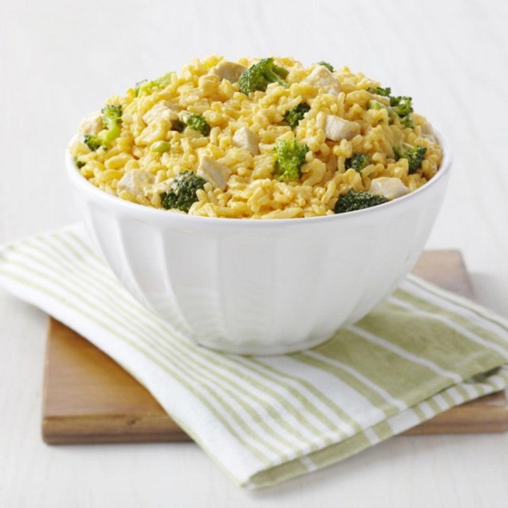 5 26674 Cheesy Broccoli Rice Meat Setting