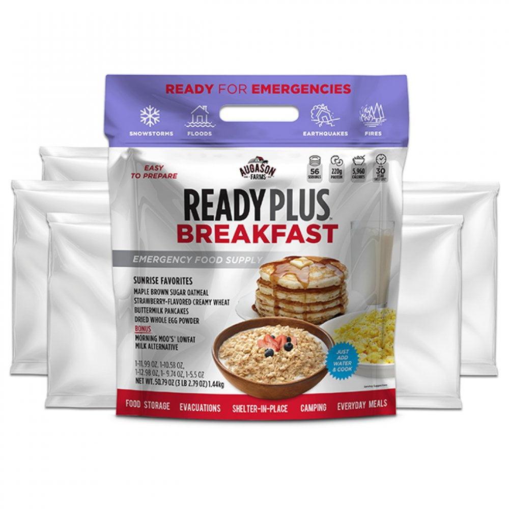 5 26675 3 Augason Farms Emergency Food Breakfast Ready Plus Pouch