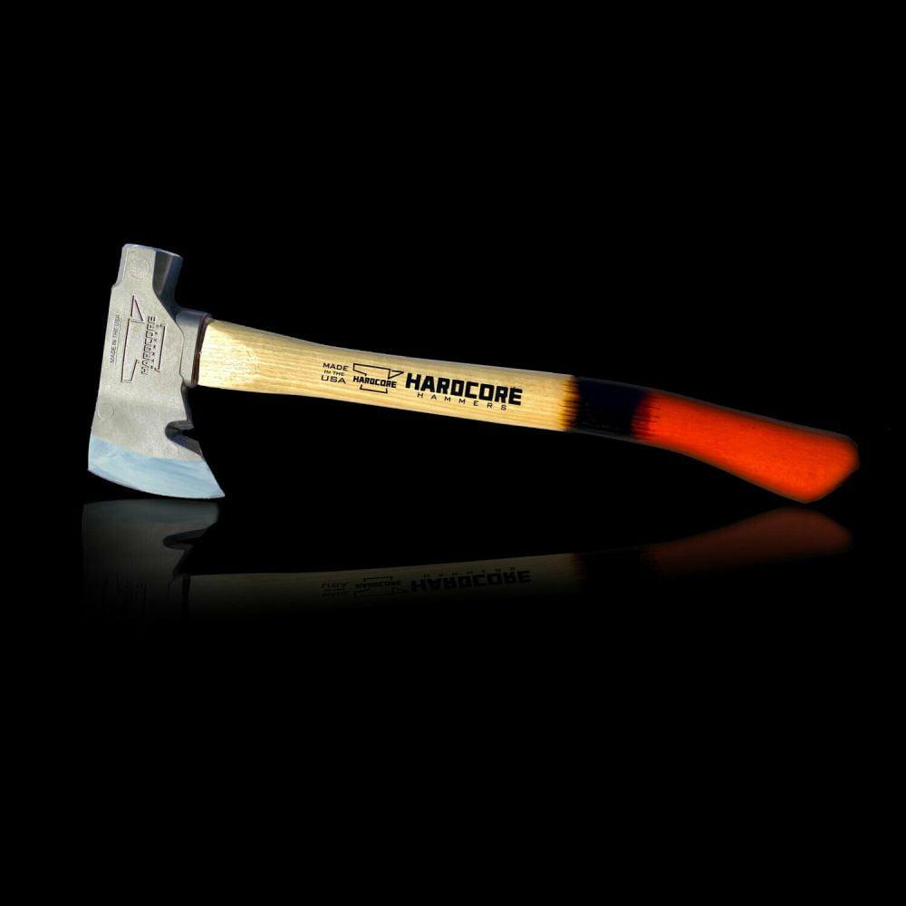 Hardcore Hammers Survivalist Hatchet - Burnt Orange