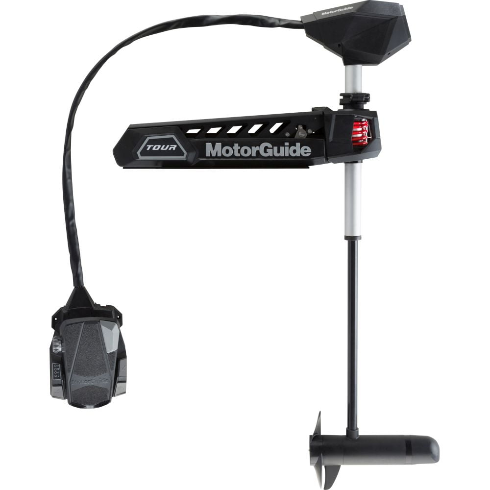 """MotorGuide Tour Pro 82lb 45""""-24V Pinpoint GPS HD+ SNR Bow Mount Cable Steer - Freshwater"""